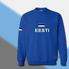 Estonia Estonian hoodies men sweatshirt sweat new hip hop streetwear tracksuit nation footballer sporting country EST Eesti