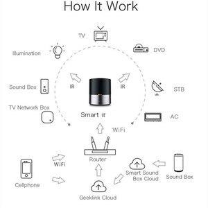 Image 3 - 新しい Geeklink スマートホーム無線 Lan + IR + 4 グラムユニバーサルインテリジェントリモコン amazon の ios Android の互換 alexa