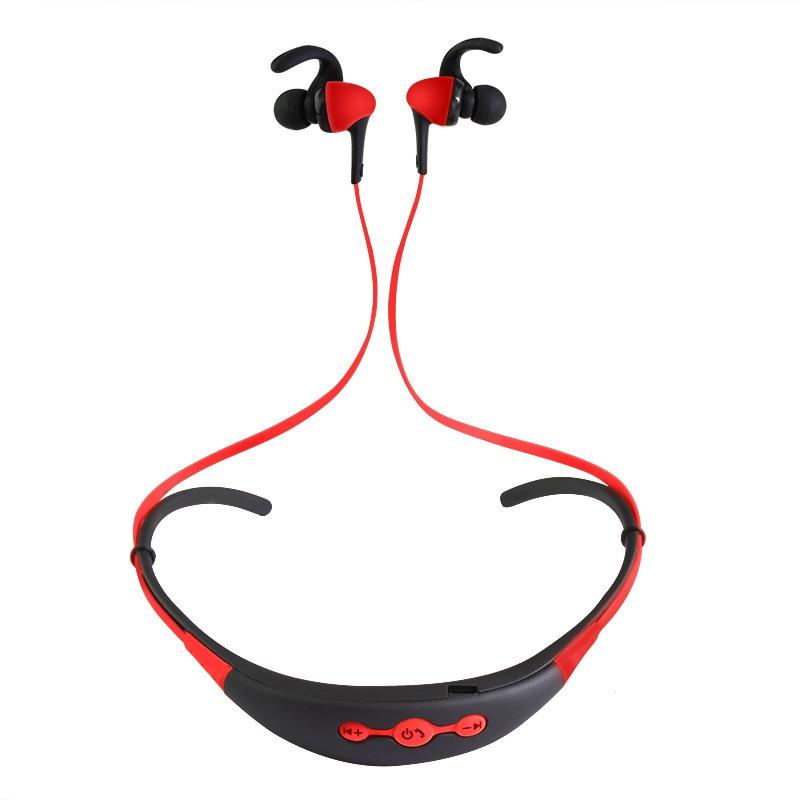2017 New 4.0 Bluetooth Wireless Stereo Musice Headset Sports Running Headphone Ear-Hook Earphone for iPhone Samsung Xiaomi