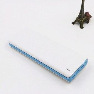 Image 4 - 5V 2A 2.1A 10*18650 mobilny powerbank zestawy DIY 3 USB Power Bank ładowarka moduł płytki drukowanej + 10S baterii Shell Case