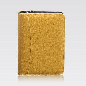 Image 4 - B5 A5 A6 Manager Spiral PU Leather Zipper Notebook  Journals Filofax Agenda Calculator Pen Holder Portfolio Organizer Planner