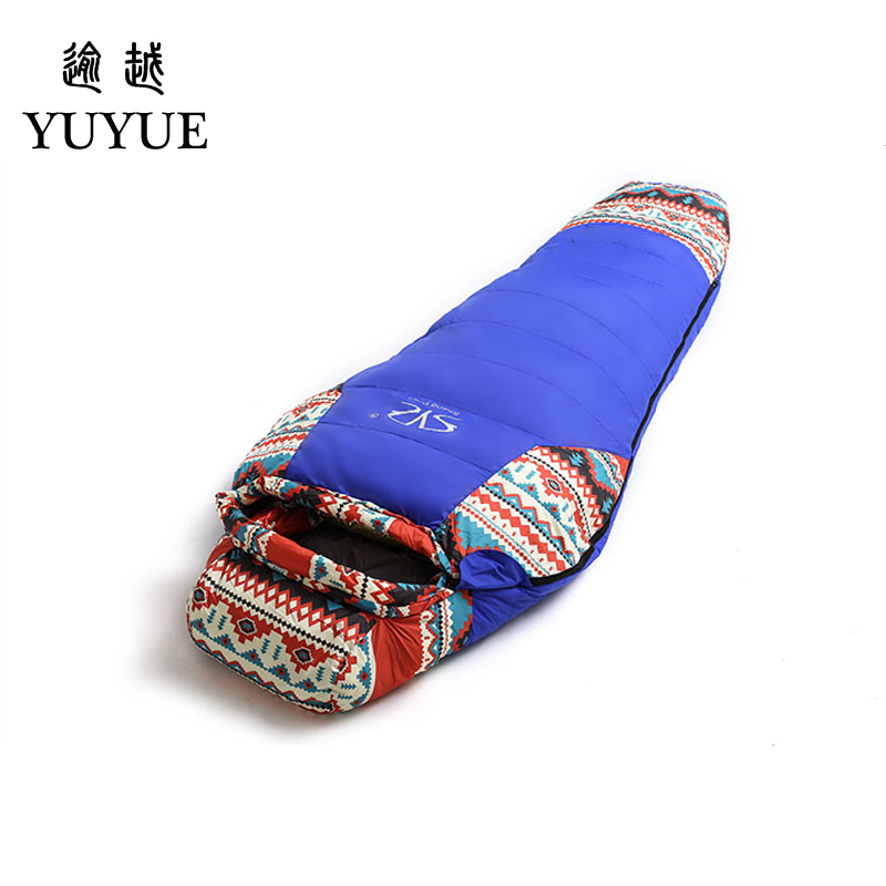 Down Sleeping Bag For Winter Camping  Liner Tent Waterproof Mummy Sleeping Bag Camping Equipment Camping Bags Sleep For Outdoor  0