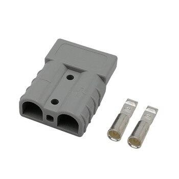 Новейший 50A 600 в разъем питания (круглое отверстие) для Anderson штепсельная вилка полюс питания электрическое зарядное устройство разъем батареи