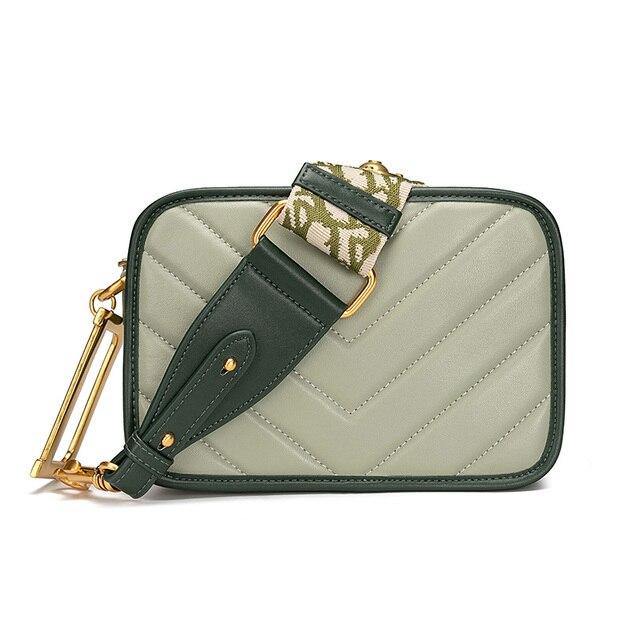Saco de Ombro das mulheres Bolsa De Couro Das Senhoras de Moda de Luxo Designer de 2019 Fmale Messenger Bag Saco Vamera