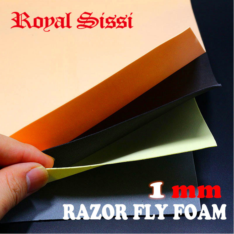 20 sheets fly tying super thin foam 1mm thick EVA foam sheet floating fly tying materials for small flies razor fly foam paper|Fishing Lures|   - AliExpress