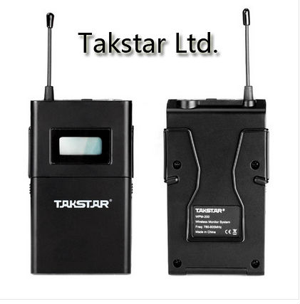 promotion high quality takstar wpm 200 wireless in ear monitor system stereo wireless earphones. Black Bedroom Furniture Sets. Home Design Ideas