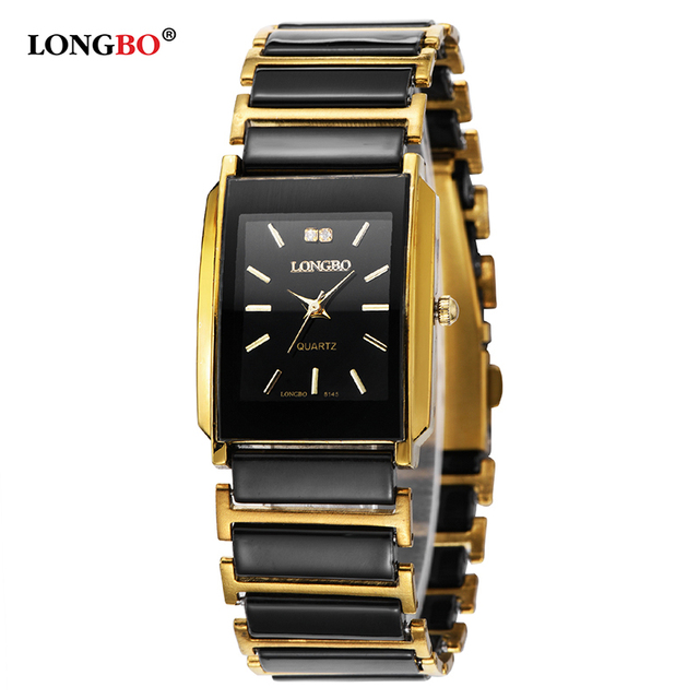 LONGBO Brand Men Women Brief Casual Unique Quartz Wrist Watches Luxury Brand Qua