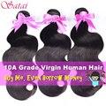 100% Brazilian Body Wave 3 Bundles Brazilian Virgin Hair Body Wave Brazilian Hair Weave Bundles Best Human Hair Top Hair Bundles