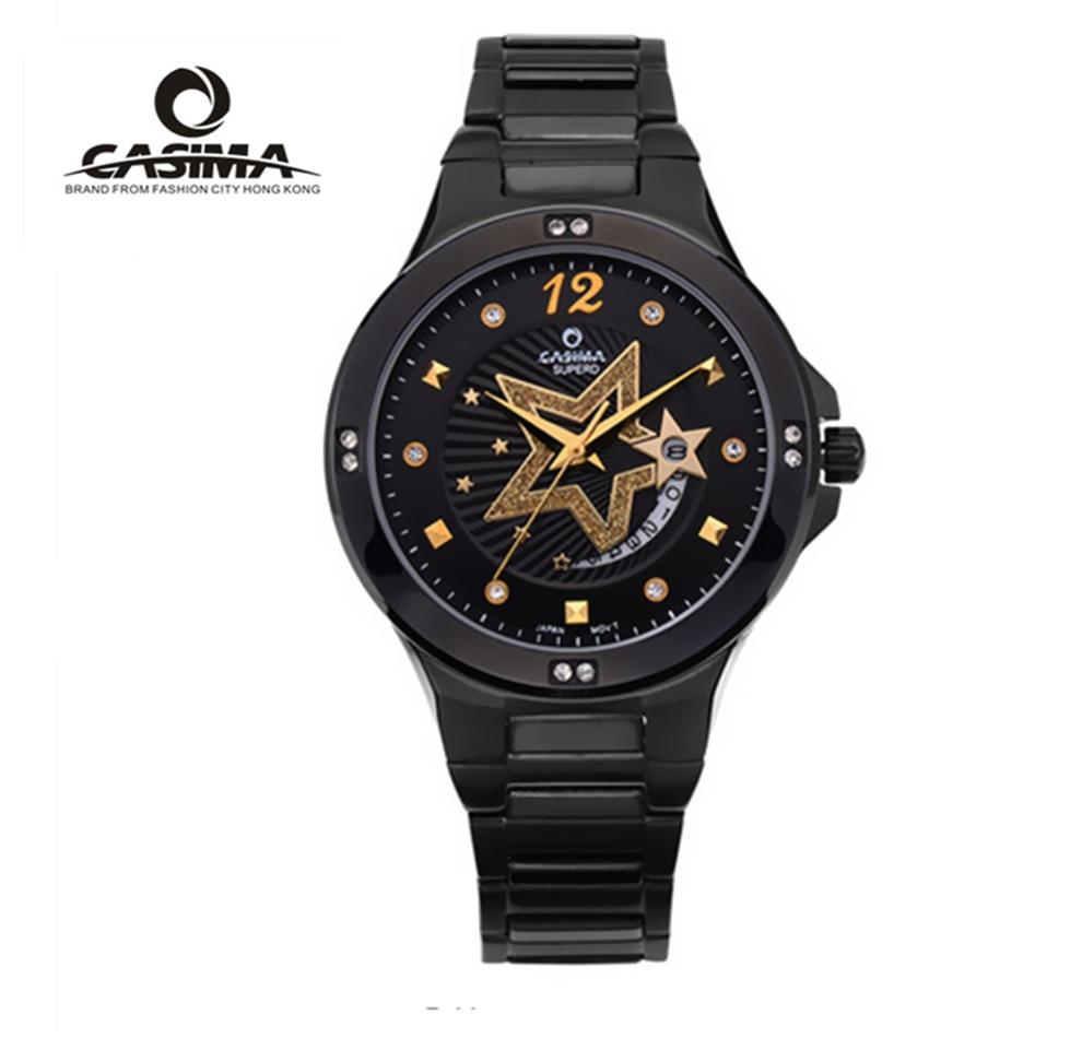 2017 New Fashion Luxury brands CASIMA Quartz watch Stainless Steel Bracelet watch business Casual Ladies watches