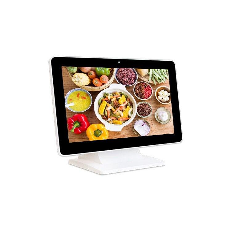 Promotion 15.6 pouces tout en un Pc écran tactile kiosque publicité numérique signalisation