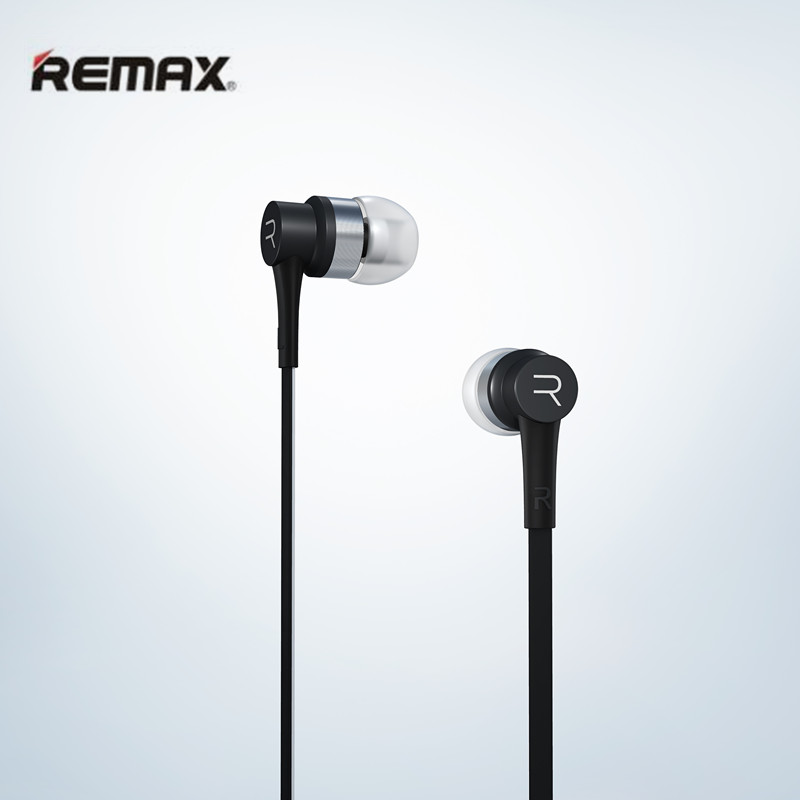 REMAX RM-535 Music Clear In-Ear Earphones Earbud With Mic Super Bass Stereo Noise Headsets for iPhone Samasung Mobile Phone/pc