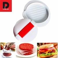 Dehomy Manual Burger Press Machines Food Grade Plastic DIY Cutlets Patty Caddy Hamburger Meat Beef Maker Tools Kitchen Gadgets|gadget kitchen|gadgets kitchen tools|gadgets tool -