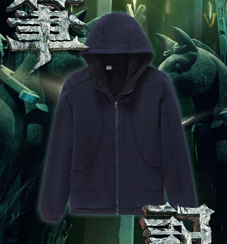 Fashion Woman Man Winter Autumn Hoody sweatershirt Zipper hoodies ZXS-Tomb notes