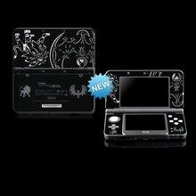 포켓몬 썬 & 문 보호용 스킨 스티커 NEW Nintendo 3DS / NEW 3DS Black
