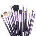 12 pcs Professional Makeup Brushes Tools Face Beauty Brush Set High Quality Make Up Brush Kits