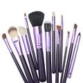 12 unids Pinceles Maquillaje Profesional Herramientas de Belleza de La Cara de Cepillo de la Alta Calidad Compone el Cepillo Kits