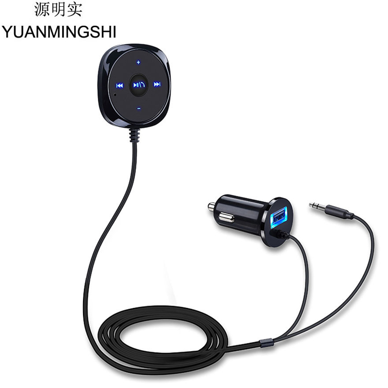 Kextech Car Bluetooth Music Receiver With Hands Free Function: Aliexpress.com : Buy YUANMINGSHI Wireless FM Transmitter