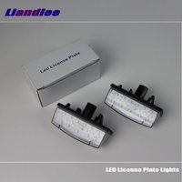 Liandlee For Toyota Prius XW30 2009~2015 / LED Car License Plate Light / Number Frame Lamp / High Quality LED Lights