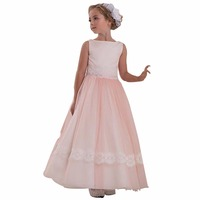 ZYLLGF Bridal A line Kids Beauty Pageant Dresses Princess Pageant Dresses Cheap Infant Pageant Dresses With Appliques FP14