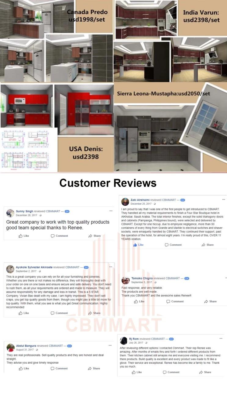 kitchen feedback