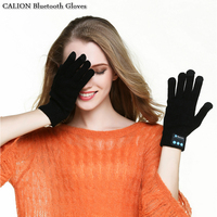 CALION Bluetooth Tai Nghe Găng Tay Hỗ Trợ Các Cuộc Gọi Điện Thoại Cuộc Gọi Talking Màn Hình Cảm Ứng găng tay Thời Trang Unisex Winter Knit Găng Tay Ấm