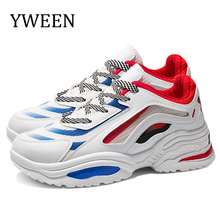 YWEEN Autumn Vintage Sneakers Men Breathable Casual Shoes Men Comfortable Fashion Tenis Masculino Adulto Sneakers men vintage outdoor walking sneakers men breathable mesh casual shoes men comfortable fashion tenis masculino adulto sneakers