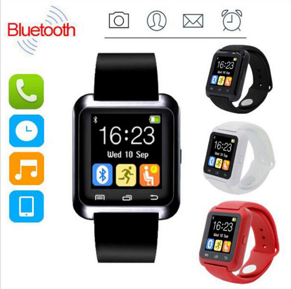 Smartwatch Bluetooth Smart Watch U80 for iPhone IOS Android Smart Phone Wear Clock Wearable Device Smartwach PK U8 GT08 DZ09