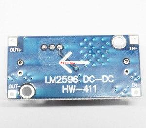 Image 5 - 100 stücke DC DC Step Down Converter Modul LM2596 DC 4,0 ~ 40 bis 1,3 37 V Einstellbare Spannung Regler