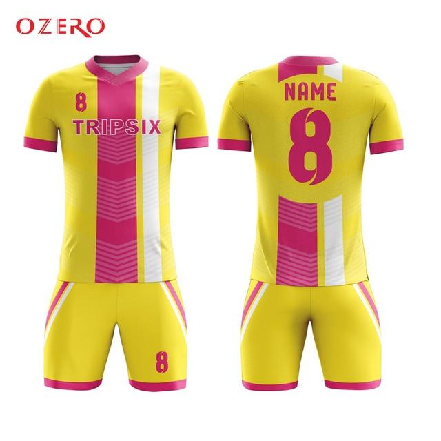 sublimation printing new design popular custom soccer jersey