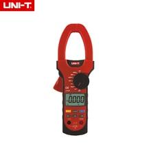 UNI-T UT207 Clamp LCD Multímetro Digital AC DC Voltios Amperios Ohm Frecuencia Tester