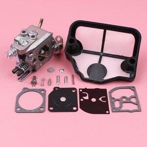 Image 5 - Carburateur Luchtfilter Carb Rebuild Reparatie Kit Voor Husqvarna 36 41 136 137 141 142 Kettingzaag Onderdeel Zama C1Q W29E