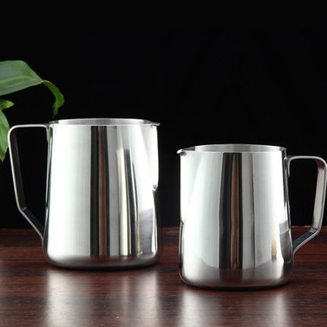 Stainless Steel Milk Steaming Pitcher 3