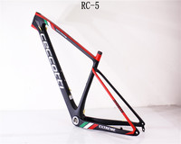 NEW Colors painting 29er 15 17 19 inch 142 or 148*12MM Carbon mtb Frame Mountain Bicycle Bike Frame free shipping