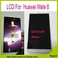 Alta qualidade Companheiro 8 Display LCD + Touch Screen + ferramentas 100% nova substituição digitador assembléia para huawei mate 8 NXT-AL10