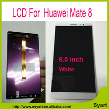 High quality Mate 8 LCD Display + Touch Screen + Tools 100% New  Digitizer Assembly Replacement For Huawei Mate 8 NXT-AL10