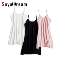 100% pure silk nightgowns women Sexy sleepwear Very light SILK nightdress nightie Summer style pink white black