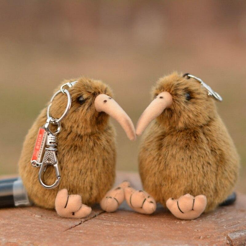 12 см со звуком птица киви плюшевые игрушки мемы Имитация мягких животных куклы киви для рождественского подарка брелок птичка