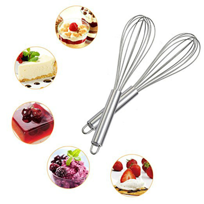 Cheap Kitchen Essential Tools Household Stainless Steel Whisk Egg Cream  Stirrer Mixer Egg Cook Egg Beaters Cake Baking In Baking U0026 Pastry Tools  From Home ...