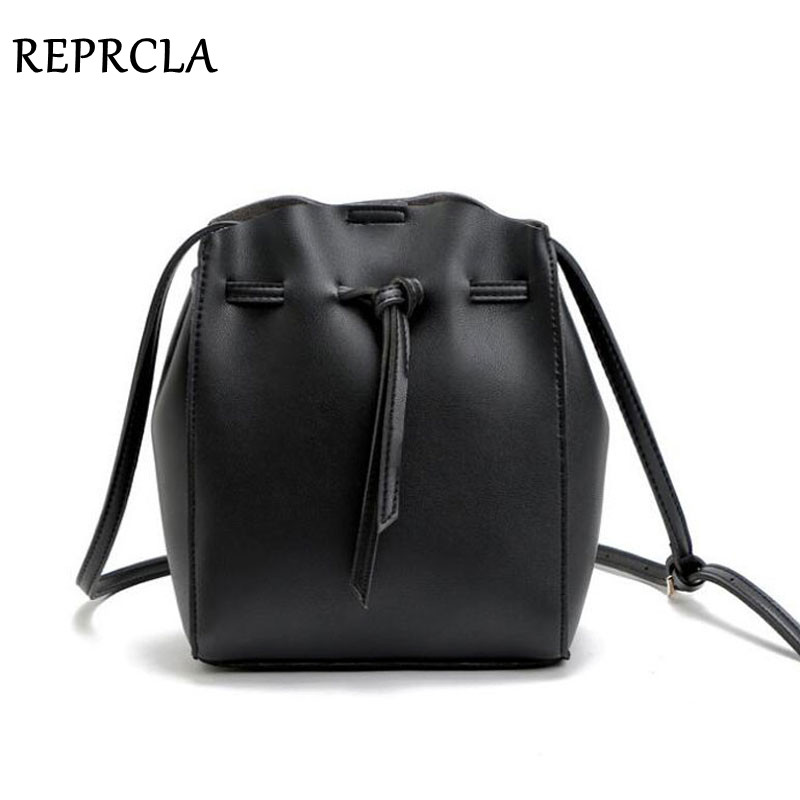 REPRCLA Fashion String Bucket Bag Women Messenger Bags Crossbody PU Leather Shoulder Bags Designer Ladies BagREPRCLA Fashion String Bucket Bag Women Messenger Bags Crossbody PU Leather Shoulder Bags Designer Ladies Bag