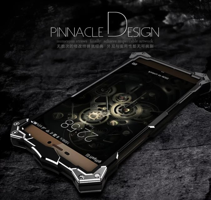 Цена за Для Huawei Ascend P8 P9 плюс Lite Mate 7 8 S Honor 7 5A телефон случаях zimon серии авиационного алюминия Металлический Чехол