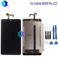 For Original Oukitel K6000 Pro LCD Display Touch Screen Panel Digital Replacement Parts Assembly 5 5