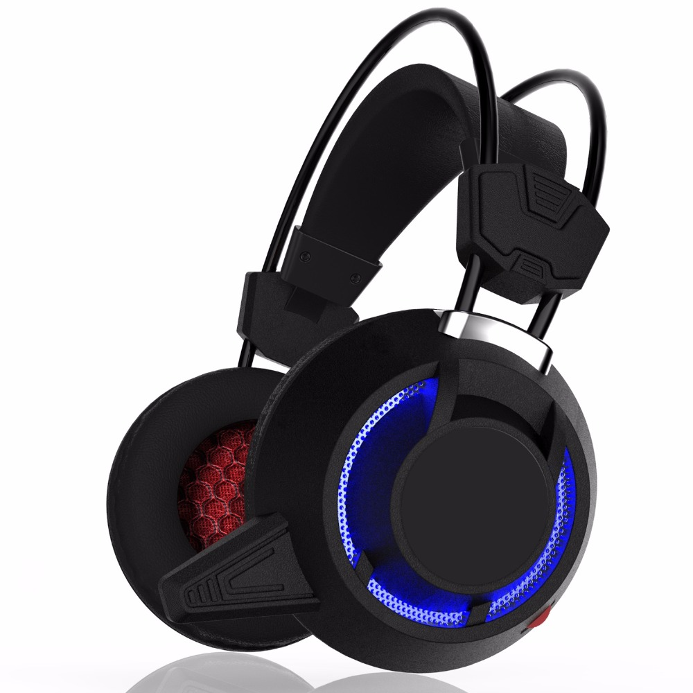 2018 New Arrival Gdlyl Gaming Headset Wired Earphone Gamer Headphone With Microphone LED Noise Canceling Headphones for Computer wired headphones earphone gaming headset foldable headphone with microphone stereo headset gamer for computer iphone xiaomi sony
