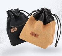 Pro Canvas Camera Retro Protector Case Soft Bag Pouch for Fuji X PRO2 X E3 X T2 X A10/X A5+15 45 X T20+18 55 /Panasonic GH5