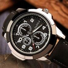 Yazole 2017 sport reloj de los hombres relojes de primeras marcas de lujo famoso hodinky hombre reloj de cuarzo reloj de pulsera de cuarzo-reloj relogio masculino