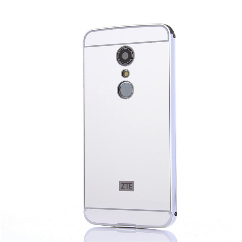 ZTE Axon 7 2017 Case Case Plating Metal Frame with Mirror Effect - Բջջային հեռախոսի պարագաներ և պահեստամասեր - Լուսանկար 5