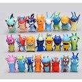 16/24pcs per set Slugterra Action Figures Toy 5cm Mini Slugterra Anime Figures Toys Doll Slugs Children Boys Toy Canina Juguetes