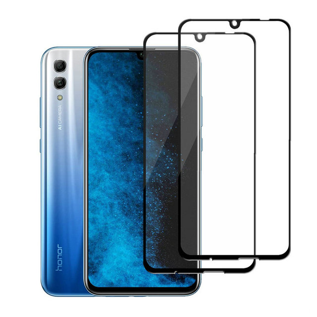 promo code 67ee3 bf9e5 US $2.98  for Huawei P Smart 2019 Plus 2019 Full Glue Cover Tempered Glass  Screen Protector for Huawei Honor 10 Lite HRY LX2 HRY LX1 film-in Phone ...