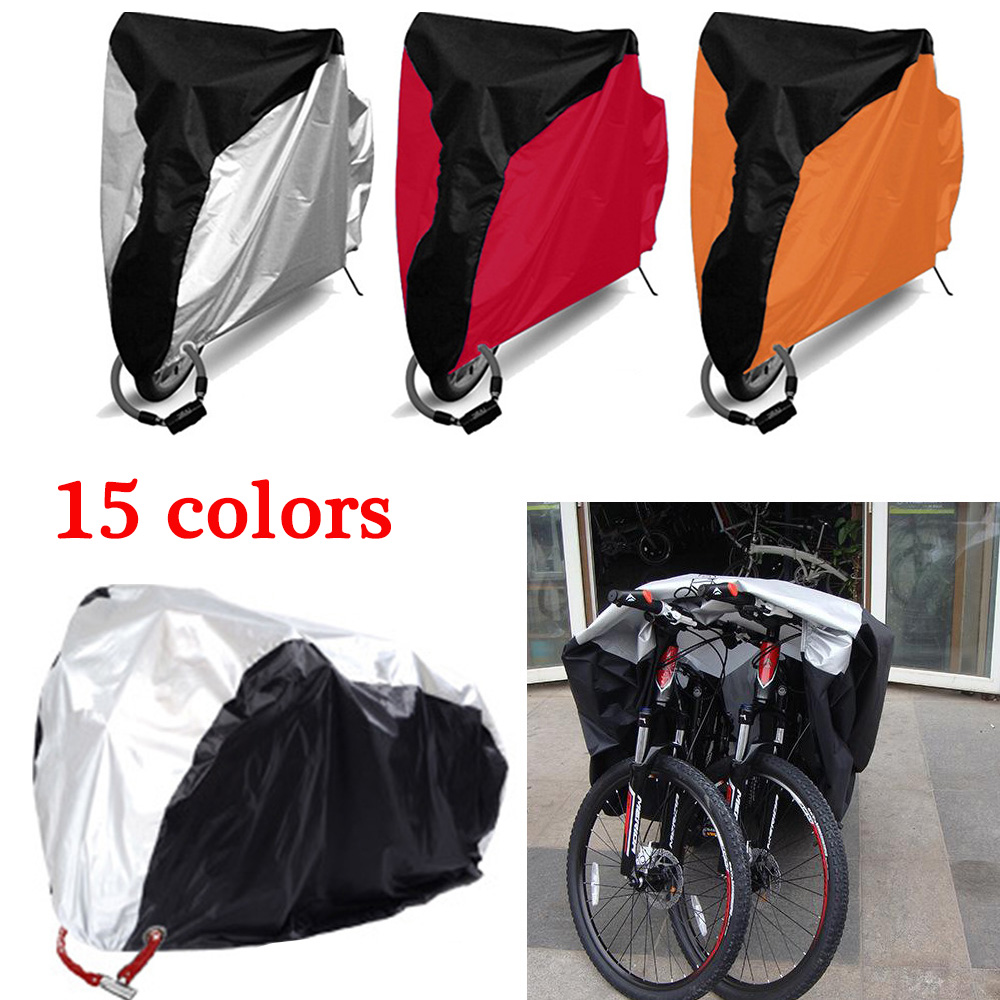 Bike Motorcycle Rain Dust Cover Bicycle Waterproof Cover Outdoor Portable Scooter Bike Protect Gear Cycling Bicycle Accessories