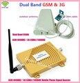 Conjunto completo de 900 GSM 3G Reforço de Sinal De Celular GSM 900 mhz 3G UMTS 2100 mhz Amplificador WCDMA 2100 Dual Band Repetidor Móvel extensor