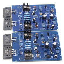 One Pair NAIM NAP140 CLONE Assembled Dual Amplifier Board 80W 8R 2SC3858 AMP By LJM